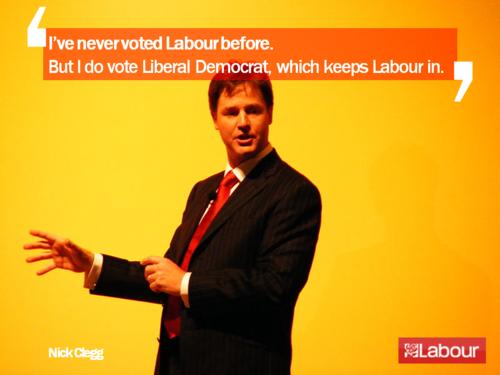 Clegg Labour